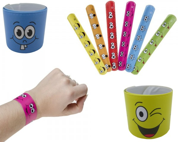 Schnapparmband Lachgesicht Smiley