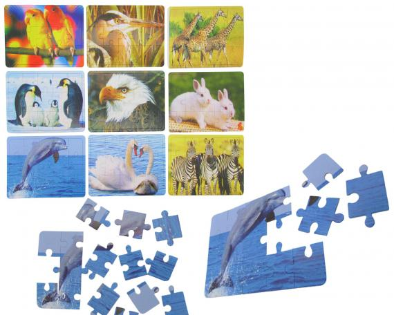 Puzzle Tiere Mix 15.tlg